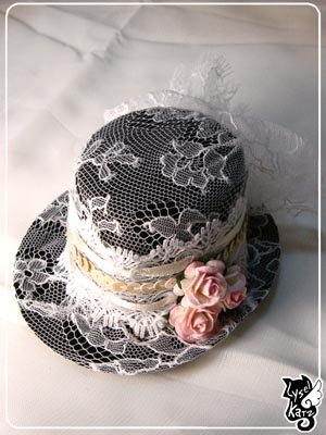Lysel K. créations - Accessoires, Chapeau, Bijoux Ldoll_hat14s