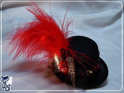 Lysel K. créations - Accessoires, Chapeau, Bijoux Ldoll_hat20s