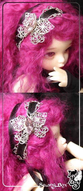 Lysel K. créations - Accessoires, Chapeau, Bijoux LyselSB_LTF-headpiece001Bs