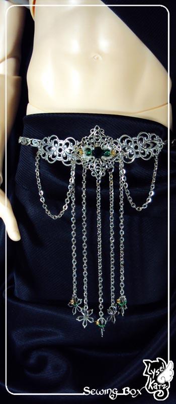 Lysel K. créations - Accessoires, Chapeau, Bijoux LyselSB_camelia-headpiece020Ds
