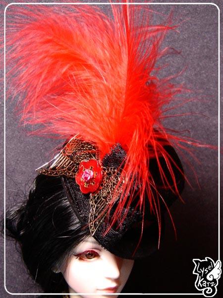 Lysel K. créations - Accessoires, Chapeau, Bijoux LyselSb_Ldoll016s