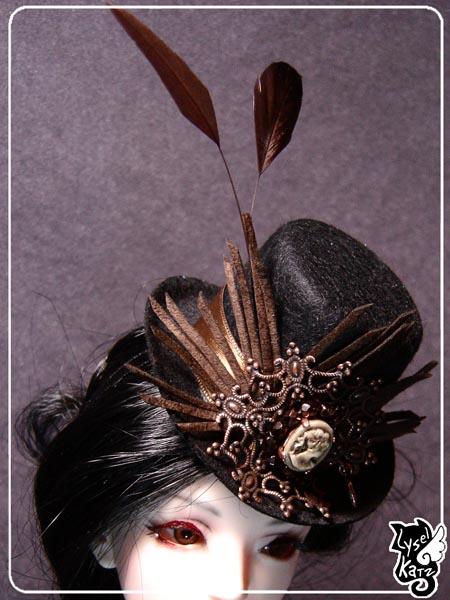 Lysel K. créations - Accessoires, Chapeau, Bijoux LyselSb_Ldoll018s