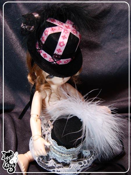 Lysel K. créations - Accessoires, Chapeau, Bijoux LyselSb_Ldoll022s