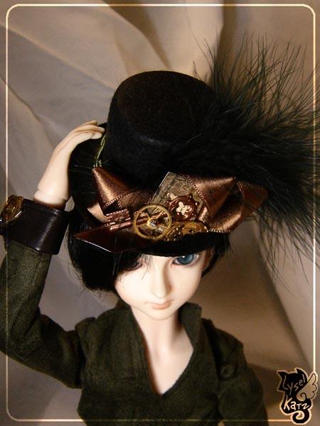 Lysel K. créations - Accessoires, Chapeau, Bijoux LyselSb_Ldoll029s
