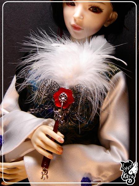 Lysel K. créations - Accessoires, Chapeau, Bijoux LyselSb_Ldoll036s
